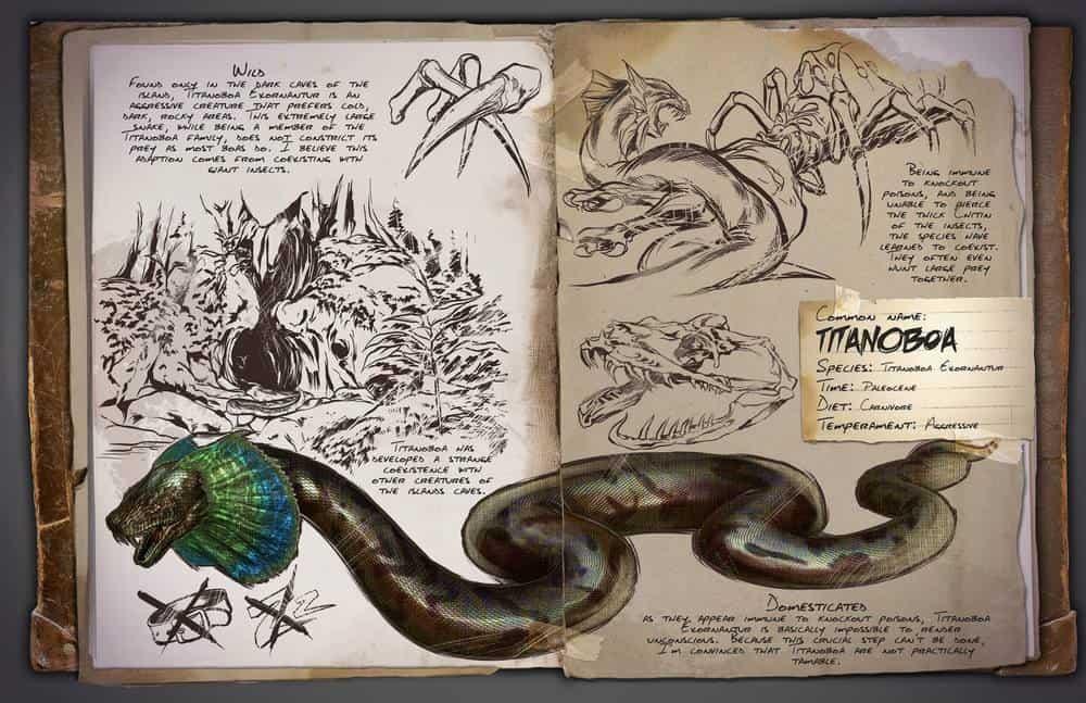 Titanoboa by Kevin