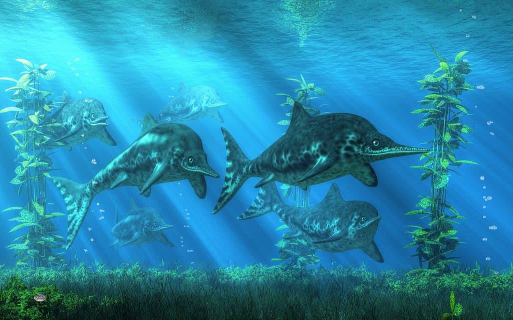 Ichthyosaurus by Daniel Eskridge