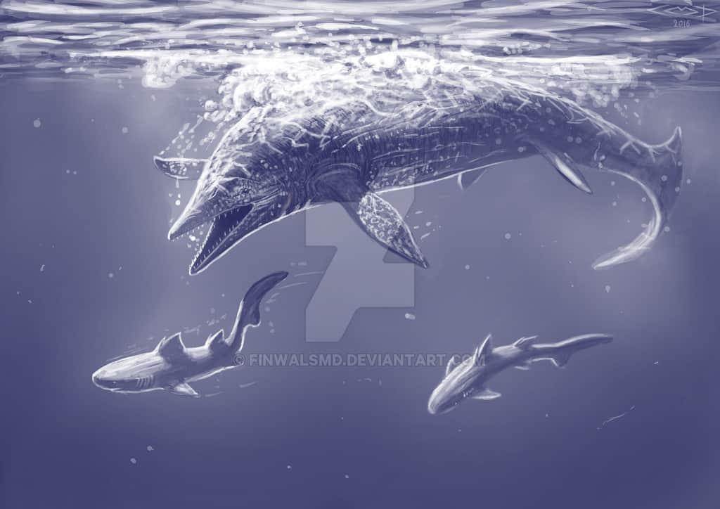 Shastasaurus by Sergej