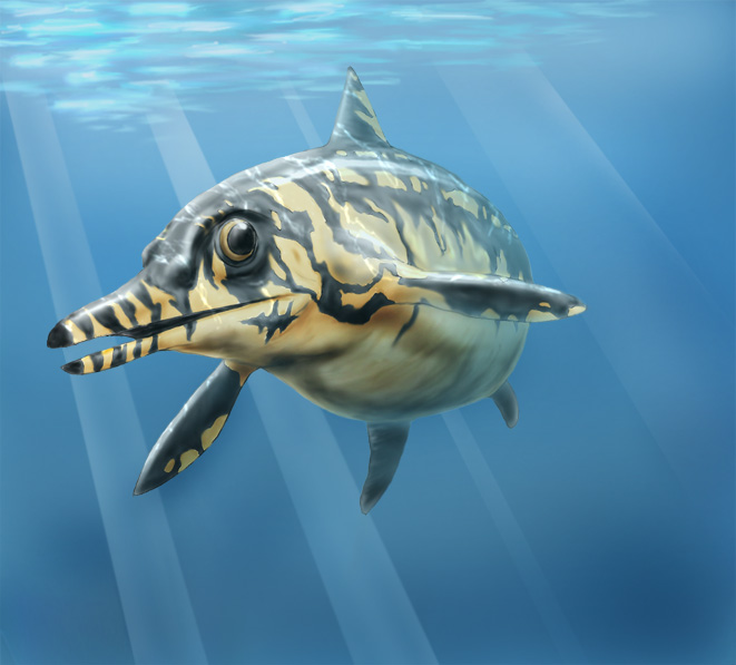 Ophthalmosaurus by Deneb