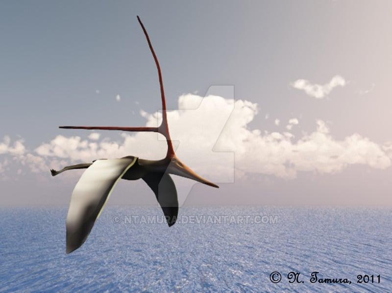 Nyctosaurus by Nobu Tamura