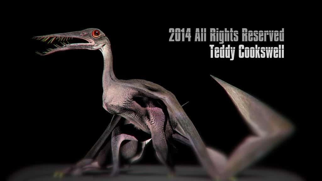Rhamphorhynchus by Teddy Cookswell