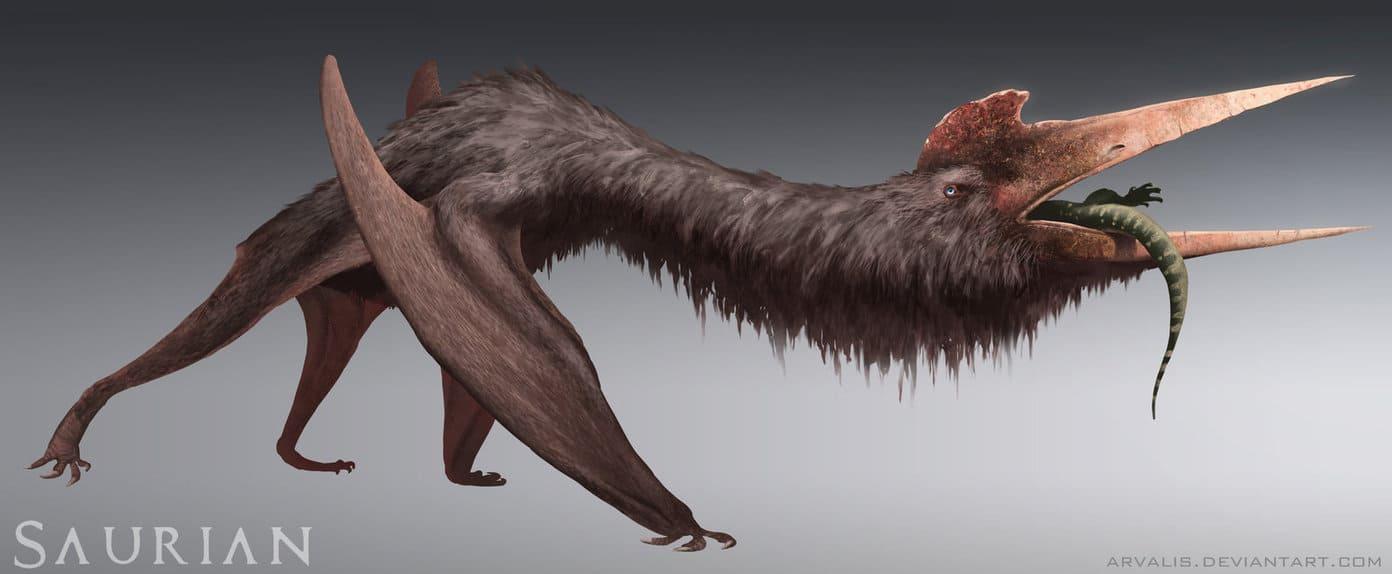 Quetzalcoatlus by RJ Palmer