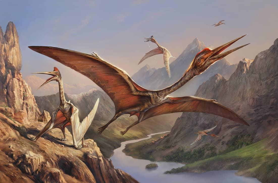 Quetzalcoatlus by Eldar Zakirov