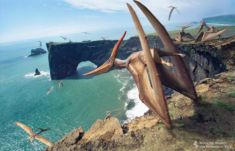 Pteranodon by Vlad Konstantinov