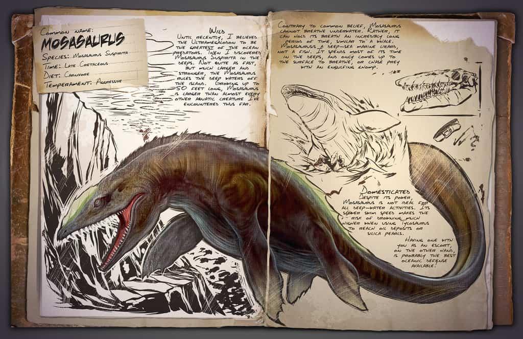 Mosasaurus by Kevin