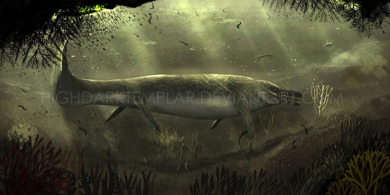 Mosasaurus by High Dark Templar