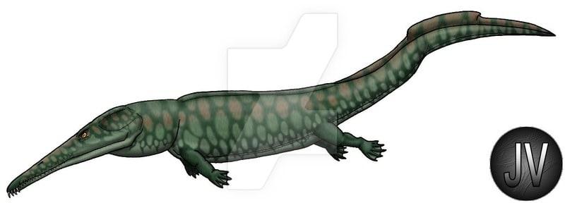 Prionosuchus by Jose Vitor E. Da Silva