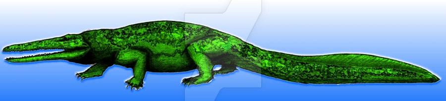 Prionosuchus by Ricardo Ramirez