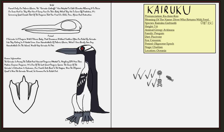 Kairuku by Tyrannosaurus90s