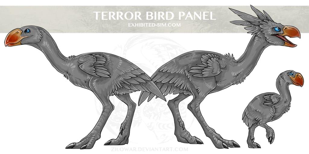 Terror Bird by Kelsey Lakowske