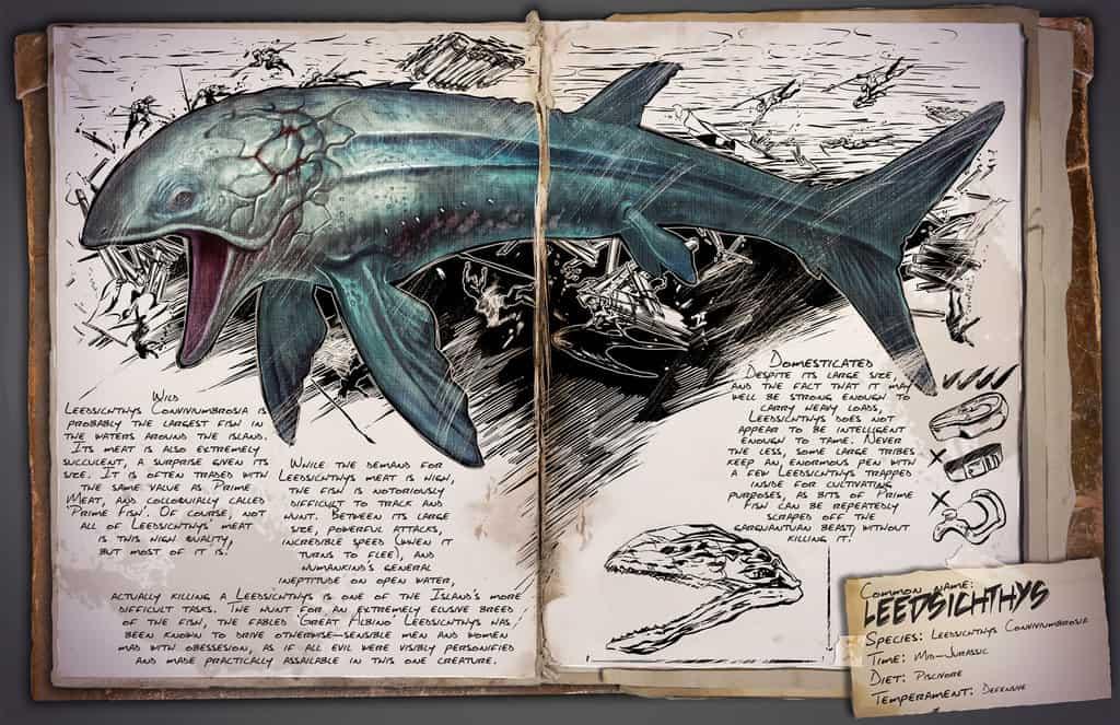 Leedsichthys by Kevin