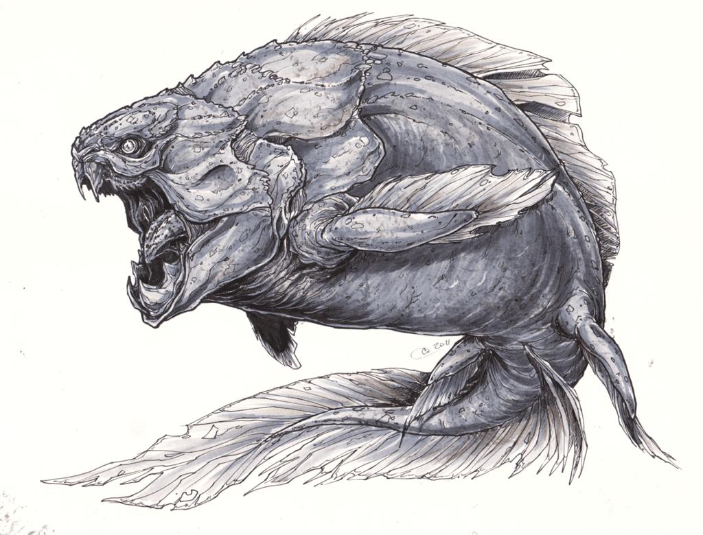 Dunkleosteus by Cassandra