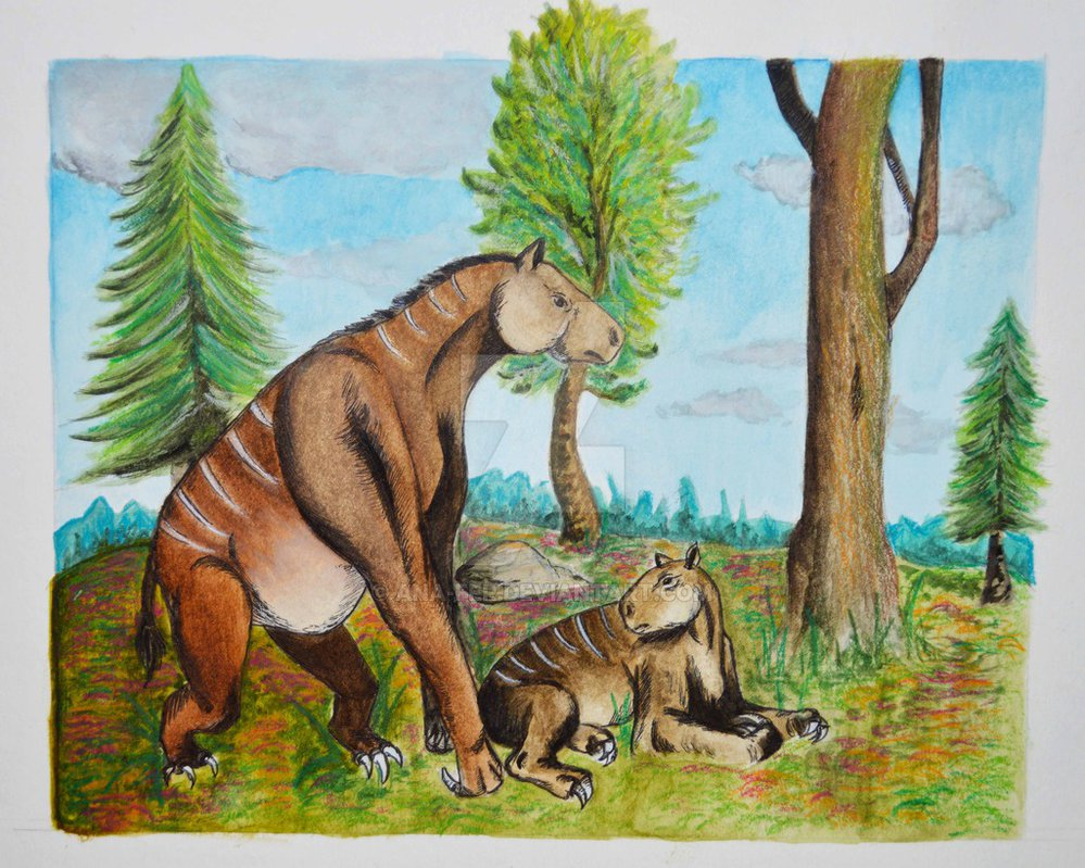 Chalicotherium by Ana-Fer
