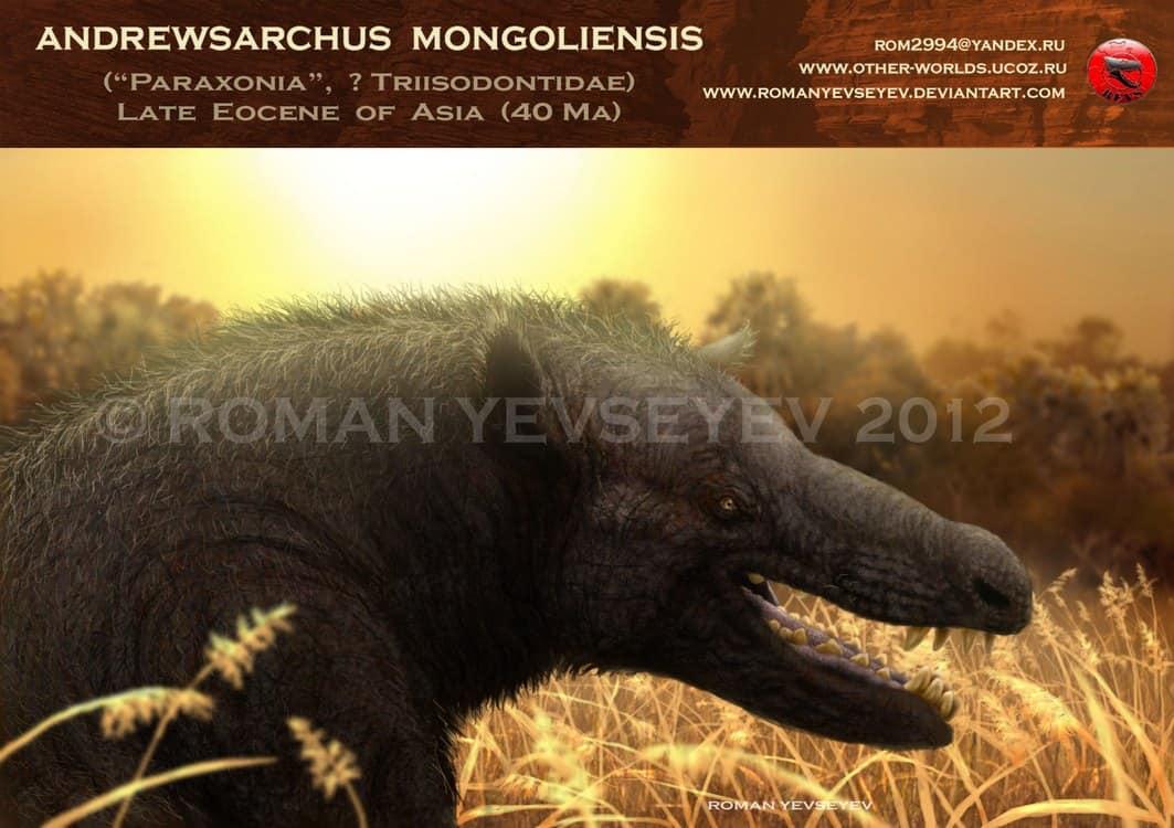Andrewsarchus by Roman Yevseyev