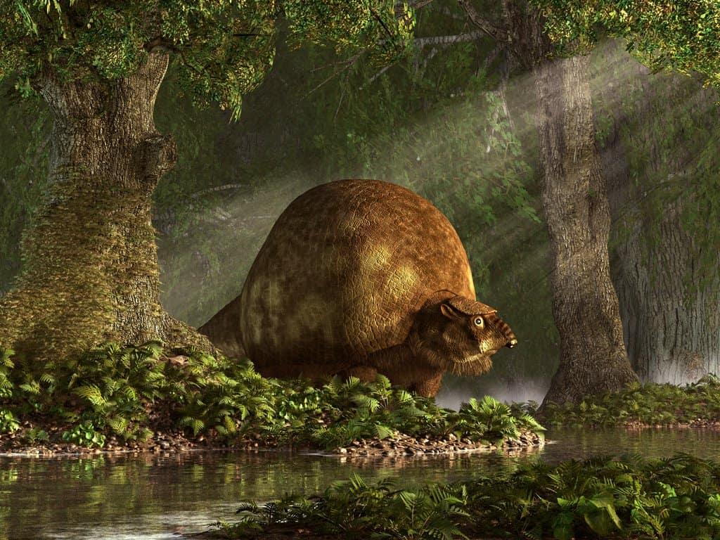 Glyptodon by Daniel Eskridge