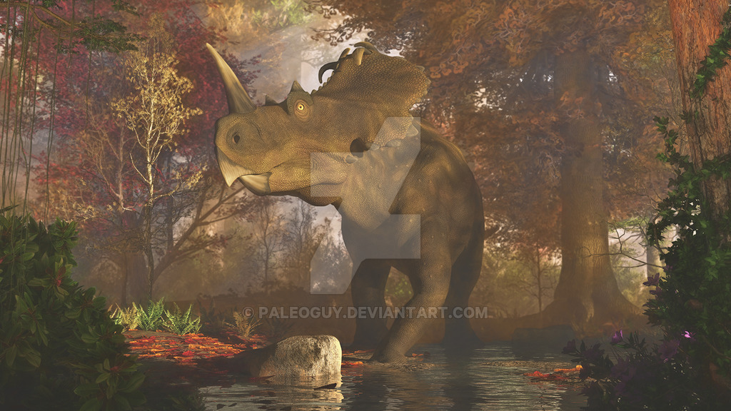 Centrosaurus by James Kuether