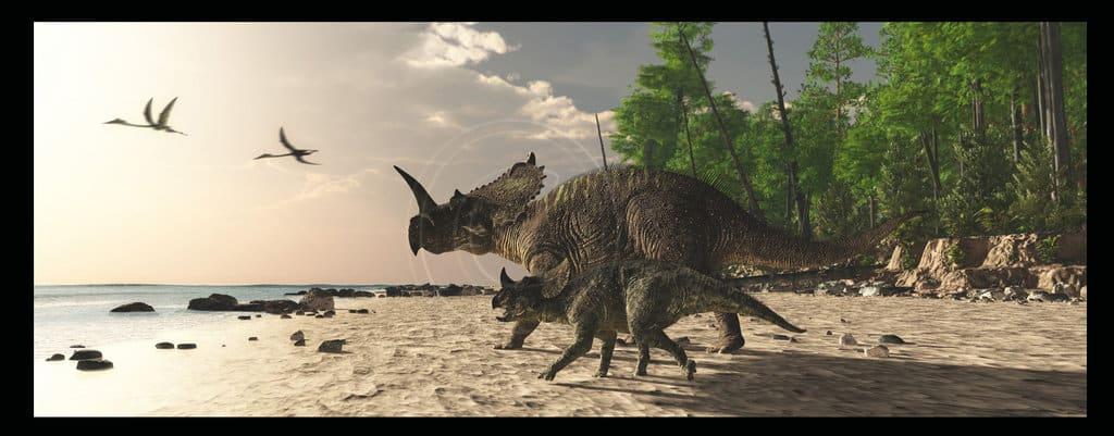 Centrosaurus by James Kuether