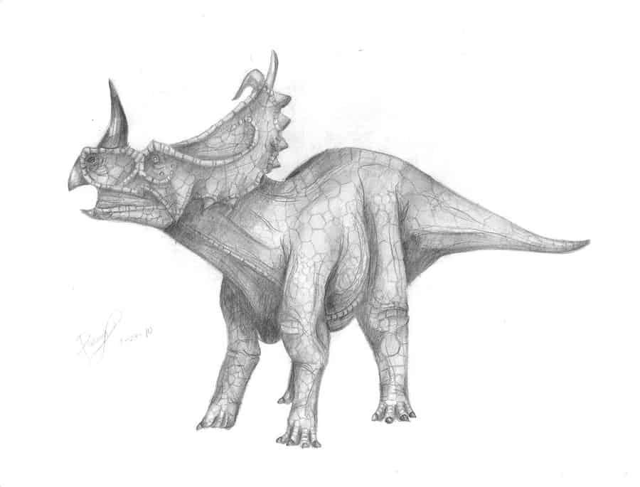 Centrosaurus by Eurich