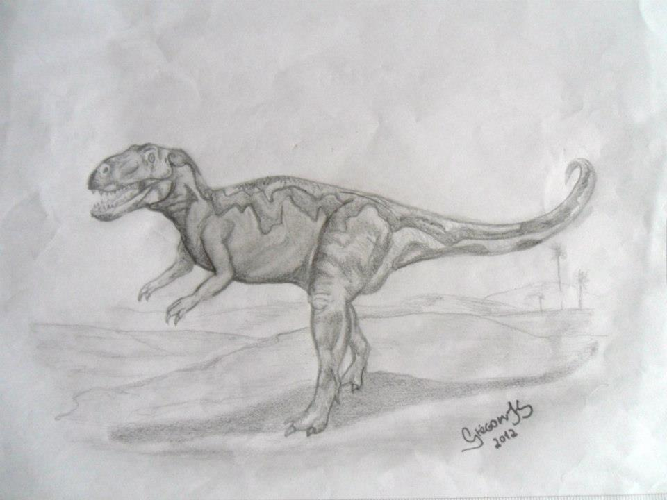 Gasosaurus by Gregory Ferreira