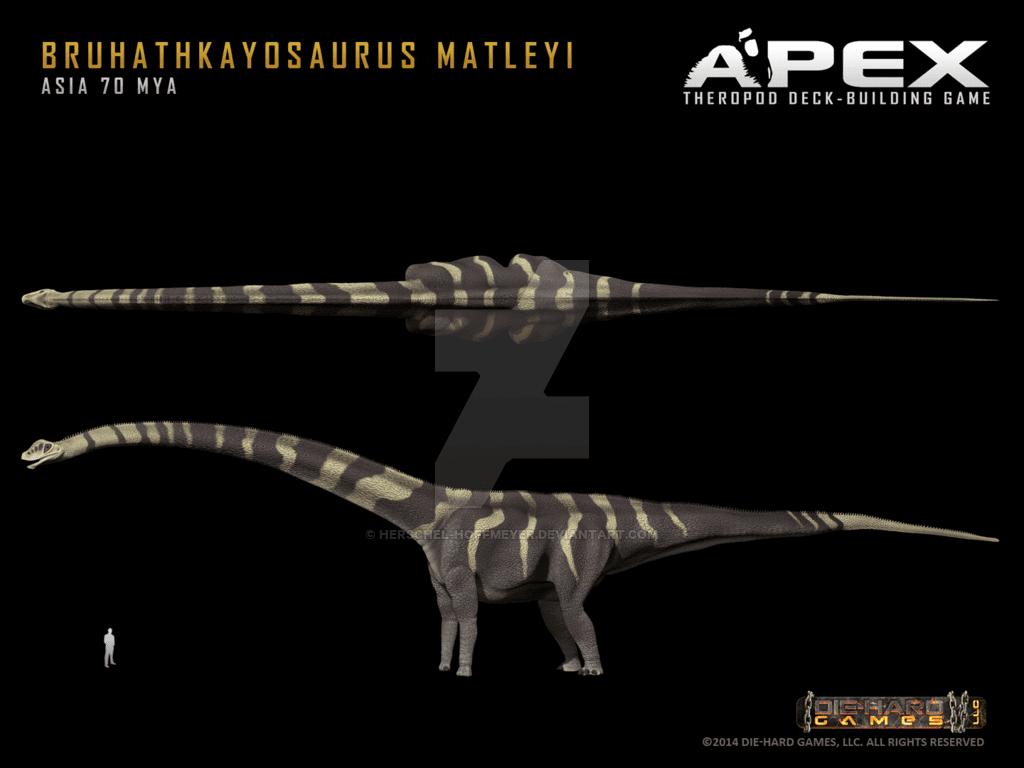 Bruhathkayosaurus by Herschel Hoffmeyer