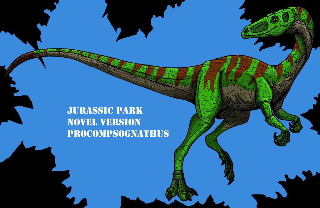 Procompsognathus by Richard Andersson