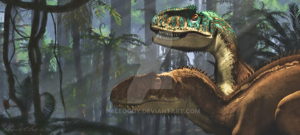 Yangchuanosaurus by James Kuether