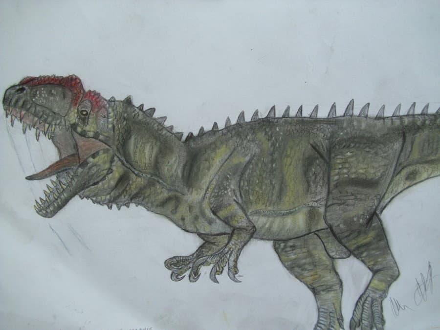 Yangchuanosaurus by Robinson Kunz