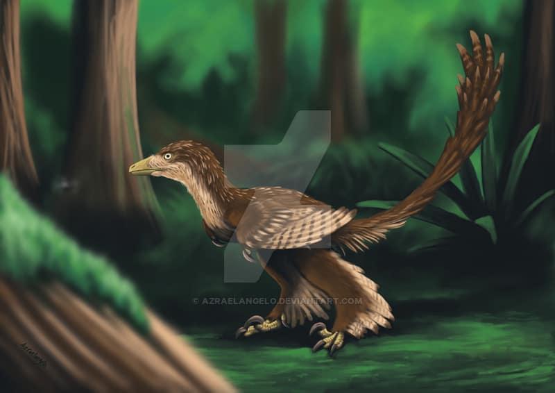 Sinornithosaurus by Drakoslav