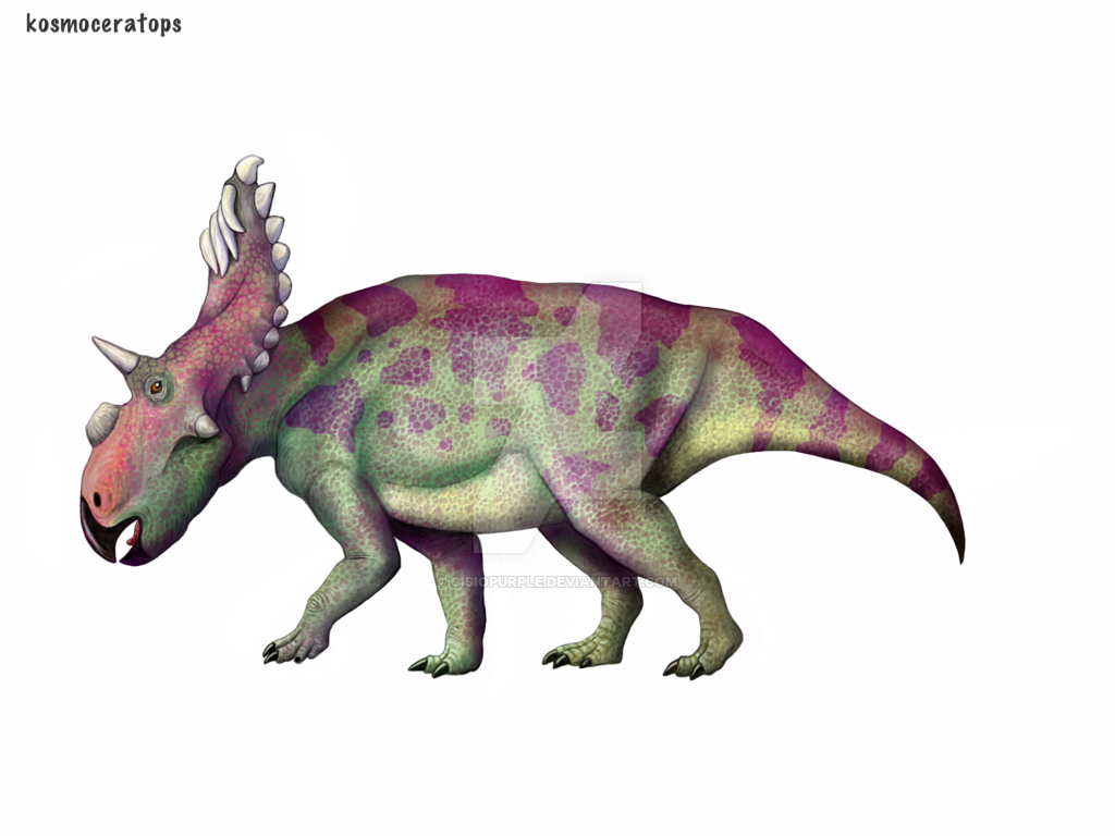 Kosmoceratops by Cisiopurple